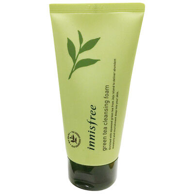 Innisfree Green Tea Cleansing Foam 150ml Free gifts