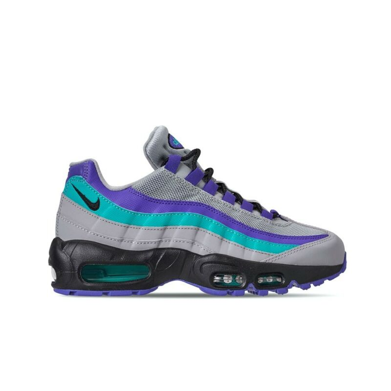 74ca8ef4b4 Nike Air Max 95 OG (Wolf Grey/Black-Indigo Burst-Hyper) Men's Shoes ...