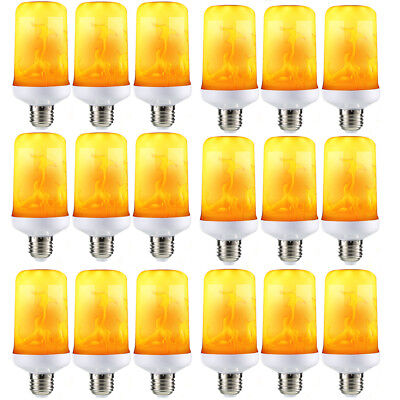 2018 Flicker Flame Fire Effect E27 LED Simulated Light Bulb Halloween Decor Lamp