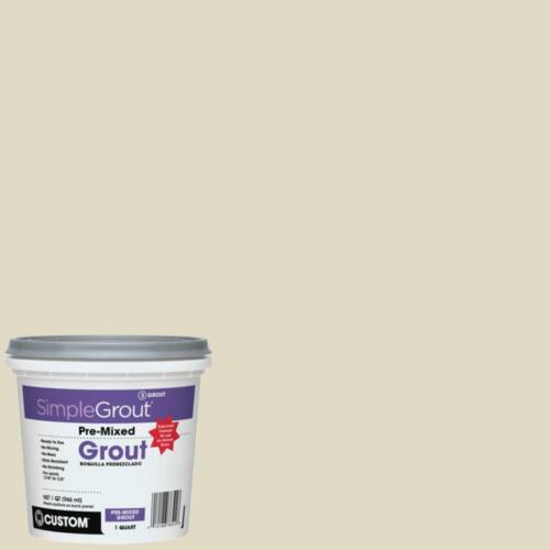 SimpleGrout #333 Alabaster Pre-Mixed Grout 1 Quart
