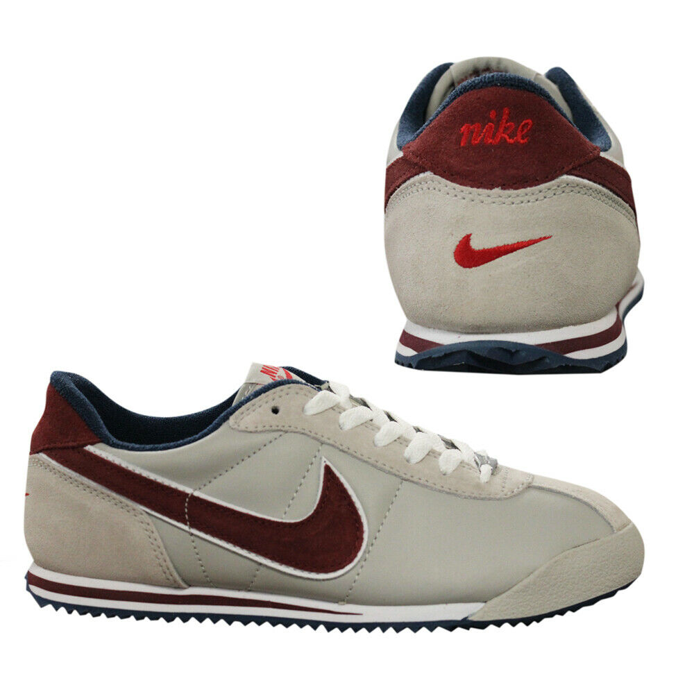 buy popular 014b9 d7ab2 Details about Nike Cortez TB Mens Lace Up Low Top Light Grey Leather  Trainers 307057 061 D27