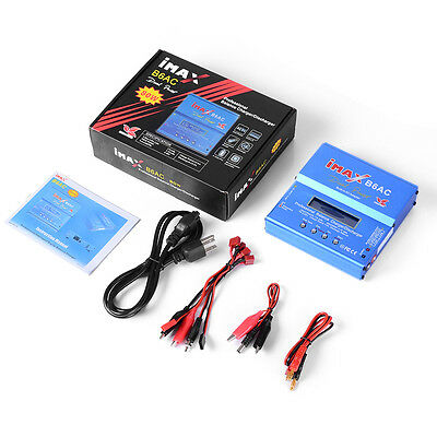 Imax B6ac Digital Rc Vehicle Charger Li Ion Battery Balancer Discharger   Plug