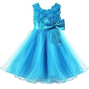 Baby Girl Flower Dresses | Baby Wedding Outfits | eBay