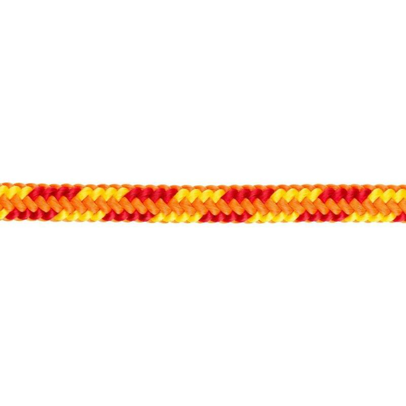 "Yale Cordage 93532Z79150XB XTC Fire 16-Strand Climbing Rope, 1/2"" x 150"