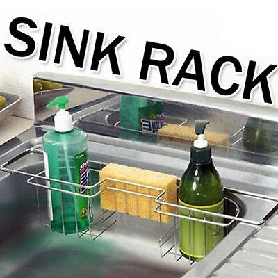 Kitchen Sink Rack Stainless steel  Storage Holder Organizer