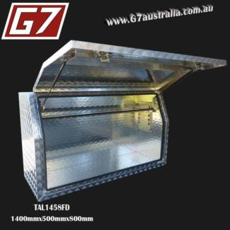 Aluminium Toolbox 2.5mm Heavy Duty checker plate toolbox tray ute Brisbane City Brisbane North West Preview