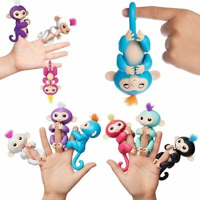 Interactive Electronic Sound Baby Monkey Finger Kids Girl Boy Pet Toy Gift Xmas for sale  Shipping to Canada