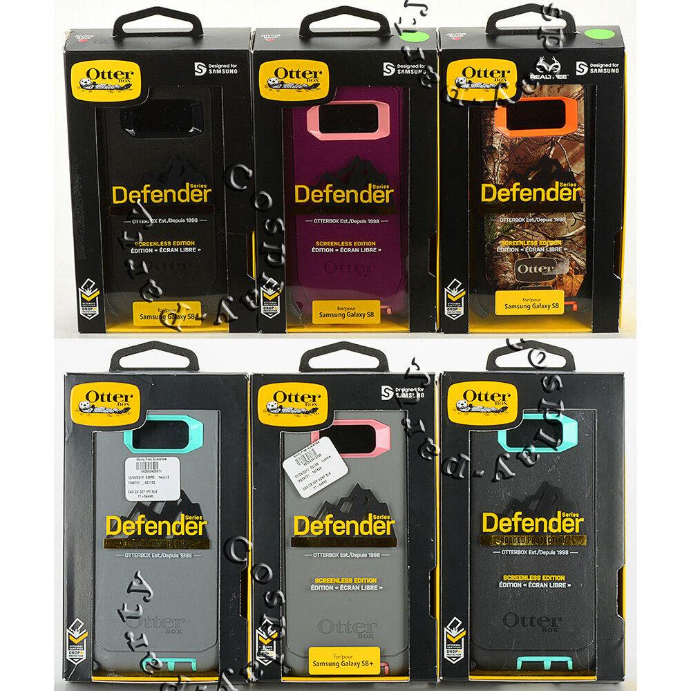 OtterBox Defender Samsung Galaxy S8 & Galaxy S8+ Plus Case w/Holster Belt Clip