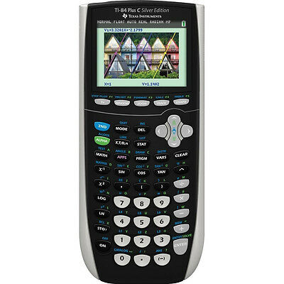 Texas Instruments TI-84 Plus C Silver Edition Graphing Calculator - Color Screen on Rummage
