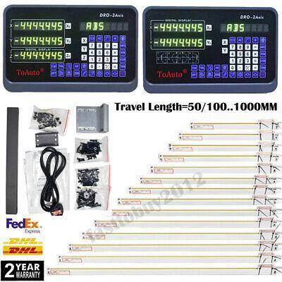 Digital Readout Dro Display Linear Scale Ruler 5m Ttl Encoder Cnc Mill Lathe