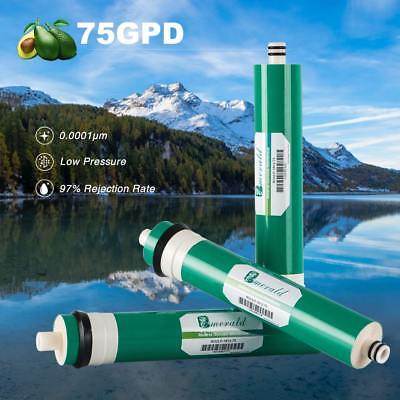 75 Filtration (3PCS 75GPD Wate Filtration RO Filter Reverse Osmosis Membrane Accouplement Axeon)