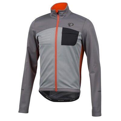 3980d7b045 Pearl Izumi 2018 Select Escape Softshell Cycling Jacket Smoked/Orange -  Small