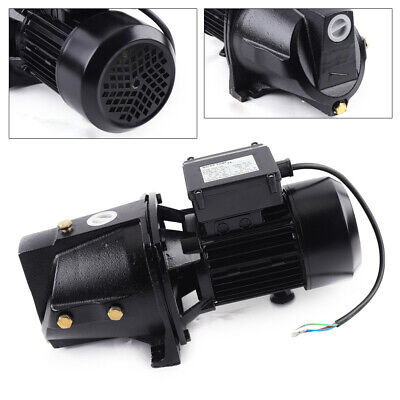 1 Hp Shallow Well Jet Pump W Pressure Switch 750w Powerful Motor Water Jet Pump