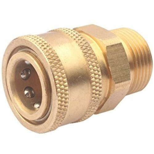 DUS-228 Couplers 3/8 Inch Quick Connect To M22 Metric Fitting For High Pressure