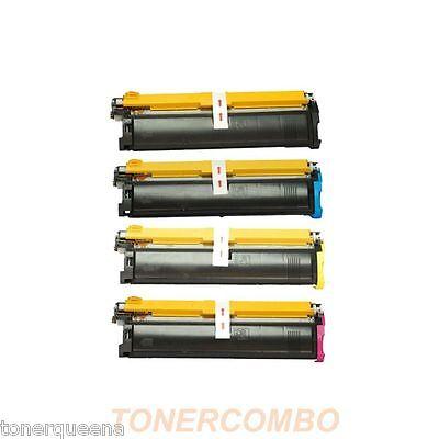 4PK High Yield toner Cartridge for Konica Minolta QMS MagiColor 2300DL 2350EN