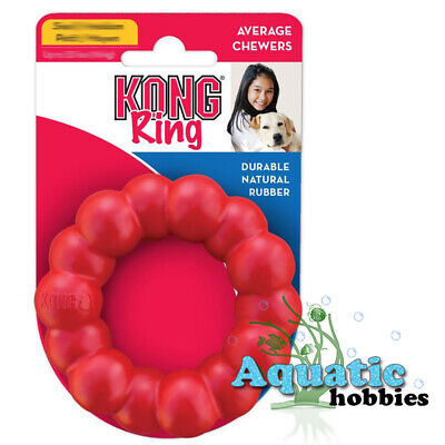 Kong Ring Small/Medium Toy For Dog Puppy Durable Natural -