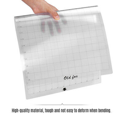 PVC Ersatz Transparent Klebstoff Schneidematte f/ Silhouette Plotter 12*24