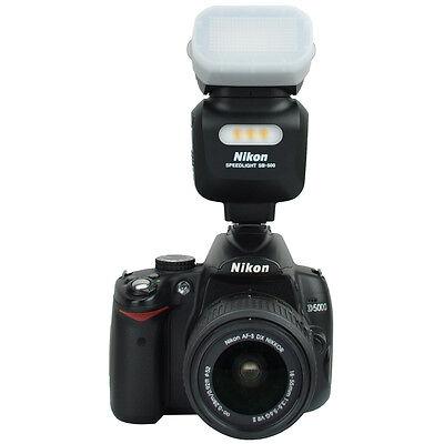 JJC Flash Bounce Diffuser Cap Box for Nikon SB500 AF Speedlight US SHipping