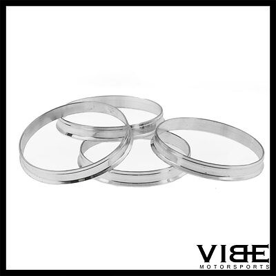 73.1 TO 57.1 ALUMINUM HUB CENTRIC CENTERING RINGS OD=73.1 ID=57.1 73mm TO 57mm