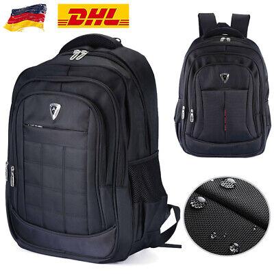 17 Zoll Laptop Rucksack Wasserdicht Notebook Reise Schulrucksack Schulranzen Bag