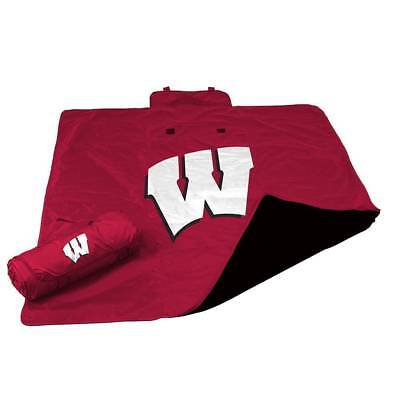 Wisconsin Badgers Official All Weather Blanket by Logo Chair Inc. (Wisconsin Blanket)