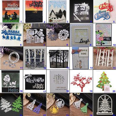Card Decorations (DIY Metal Cutting Dies Stencil Embossing Paper Card Scrapbooking Decor)