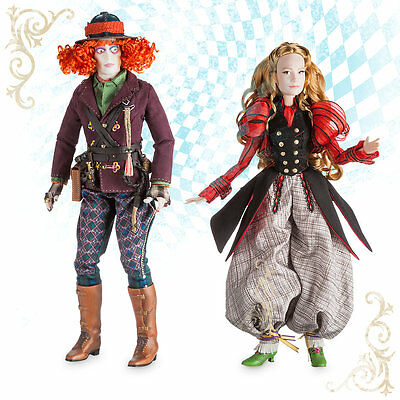 Alice And The Mad Hatter (ALICE and the MAD HATTER Deluxe Limited Edition Doll Set -)