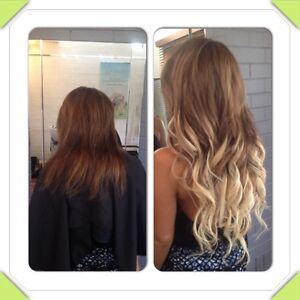 Hair extensions & Colour match package $350 Clear Island Waters Gold Coast City Preview