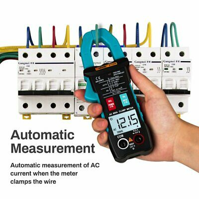 Digital Acdc Volt Current Handheld Clamp Meter Multimeter Electrical Tester