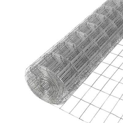 Everbilt Welded Wire Fence 5 Ft. X 100 Ft. 14-gauge Galvanized Steel Metallic