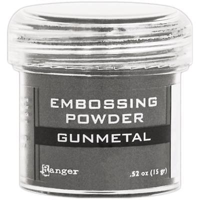 RANGER Embossing Powder GUNMETAL Made in USA ()