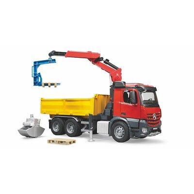 Lkw-kran (Bruder - Arocs Baustellen LKW mit Kran)