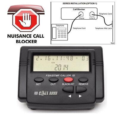 CT-CID803 Caller ID Box Call Blocker 1500 Capacity Telephone Defense FSK/DTMF