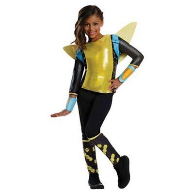 Bumblebee Super Hero Girls Mädchen Kinder Fasching Halloween Karneval Kostüm S L