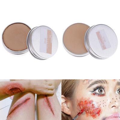 60g Halloween Fancy Dress Fake Scar Wound Skin Wax Body Face Painting Make-Up](Make Scar Wax Halloween)