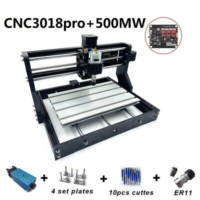 Cnc3018 Diy 500mw Laser Engraver Cutter Wood Engraving Metal Pcb Milling Machine
