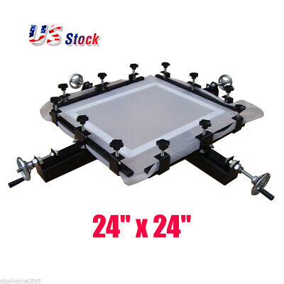24 X 24 Manual Screen Stretching Machine Screen Printing Stretcher-usa