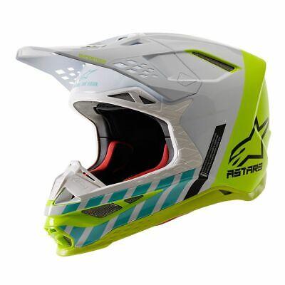 2020 Alpinestars Anaheim Limited Edition SM8 Supercross / Motocross Helmet  Limited Edition Small Helmet