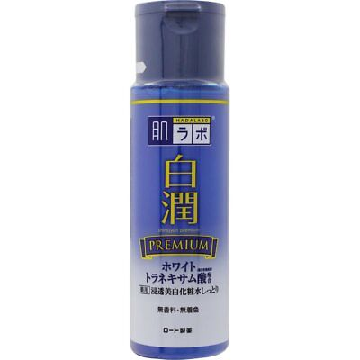 New Rohto Hadalabo Shirojyun PREMIUM Penetrant whitening lotion moist 170ml F/S