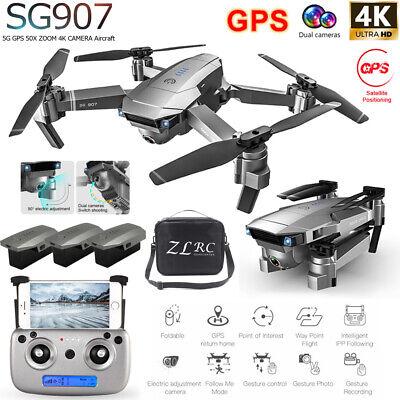 SG907 GPS Drone With 4K HD Dua...