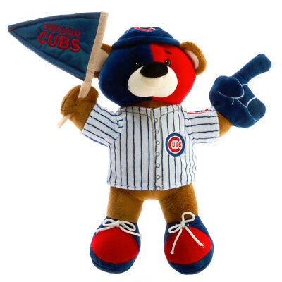 Official Mlb Plush - CHICAGO CUBS ~ Officially Licensed MLB 12 Inch Soft Plush Fan Teddy Bear ~ New!