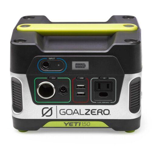 Goal Zero Yeti 150 Portable Power Station, 168Wh SLA Battery w/ 12V, AC, USB