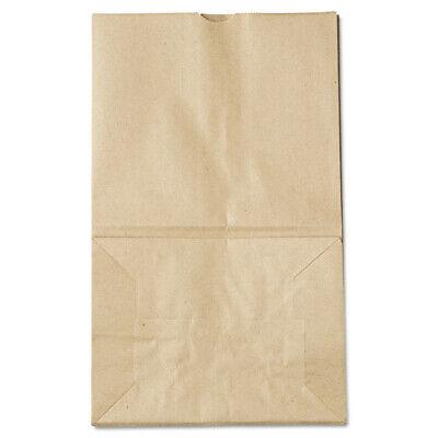 Paper Bags & Sacks #20 Squat Paper Grocery Bag, 40lb Kraft, Std 8 1/4 X 5 15/16
