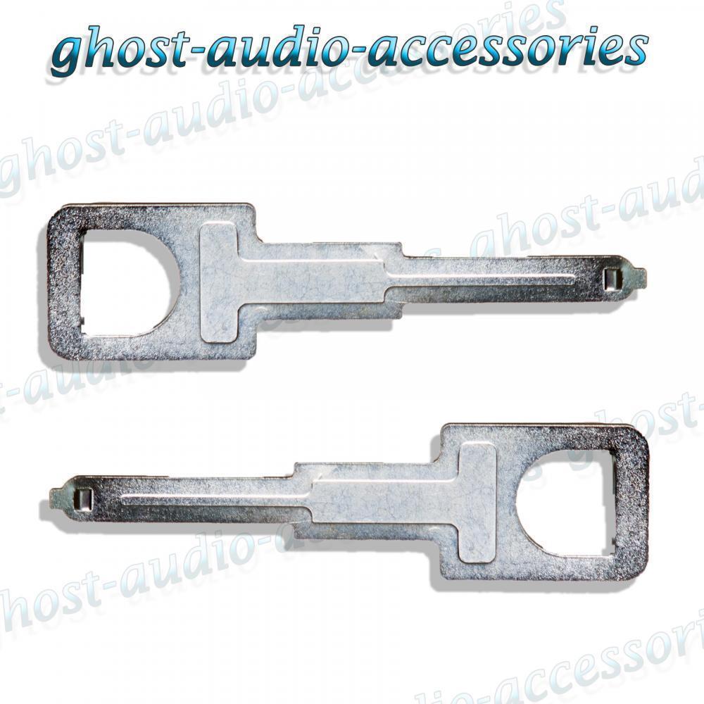 Audi A4 coche estéreo CD eliminación Llaves de liberación Radio las herramientas de extracción Pins ix-106