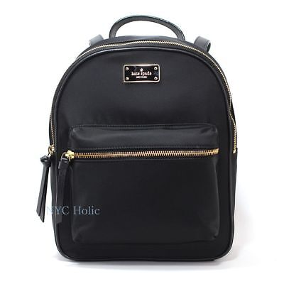 New Kate Spade New York Wilson Road Small Bradley Backpack Black WKRU4717