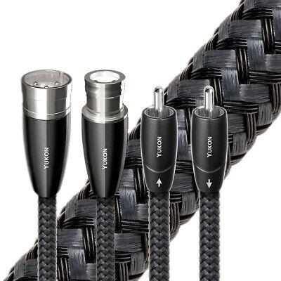 AudioQuest Yukon Analog Audio Interconnect Cables - Pair XLR, 0.5m  - $425.00