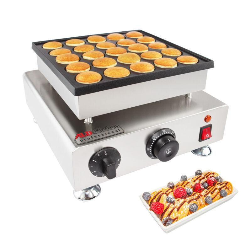 Poffertjes Maker | Dutch Mini Pancakes | Poffertjes Baking Machine | 25 pcs