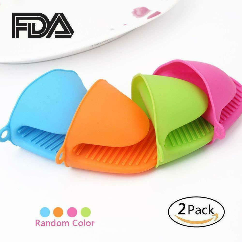 Silicone Pot Holder Mini Oven Mitt Heat Resistant Gloves Sma