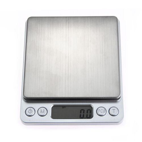 500g/0.01g Digital Medical Lab Balance Weigh Weight Weighing Scale Kitchen Home