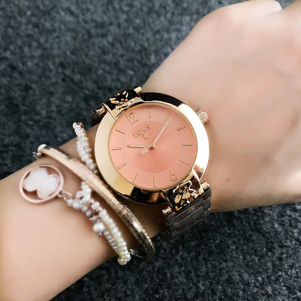 $11.99 - HOT!!! Luxury Women's Fashion Stainless Steel T 6545 bear Wrist Watch